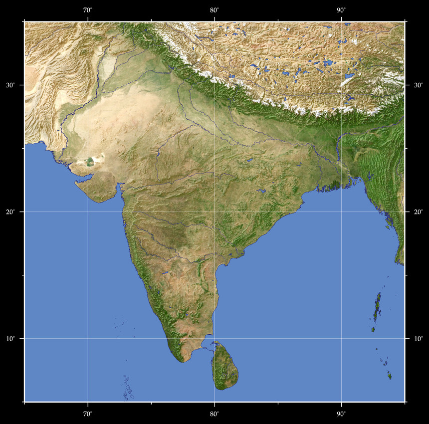 india maps and views Views Of The Earth Map Based Browsing India india maps and views