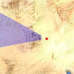 The Aïr Mountains location map