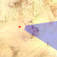 The Aïr Mountains and Ténéré desert location map