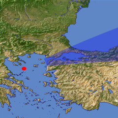 The Sea of Marmara location map