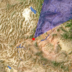 Bryce Canyon 1 location map
