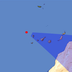Canary Islands 3 location map
