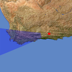 Western Cape Region location map