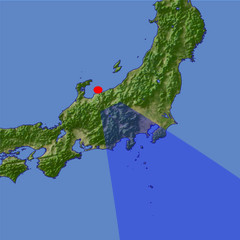 Mount Fuji 2 location map