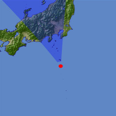 Izu Islands location map