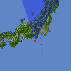 Mount Fuji location map