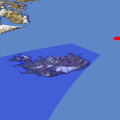 Iceland location map