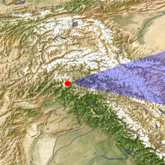 The Indus River 2 location map
