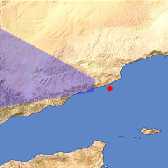 Southern Yemen 1 location map