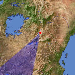 Serengeti location map