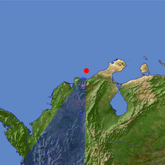 Sierra Nevada de Santa Marta location map