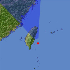 Northern Taiwan location map