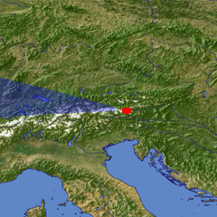 The Hohe Tauern location map