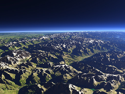 The western Alps
