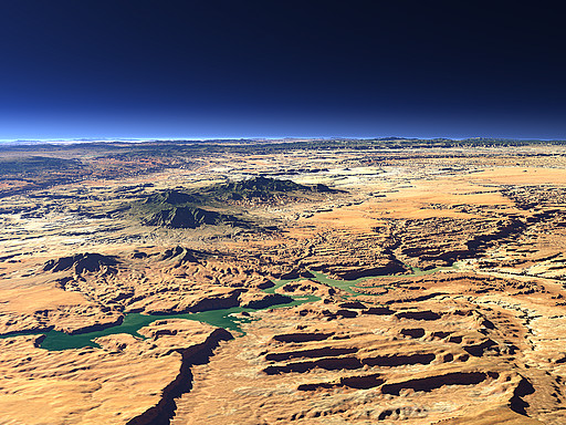 The northern Lake Powell