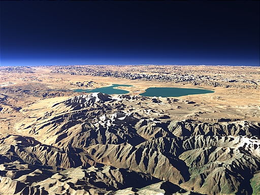 Lake Manasarovar and Rakshastal