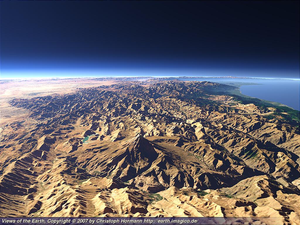 قله دماوند به راحتی دیده می شود