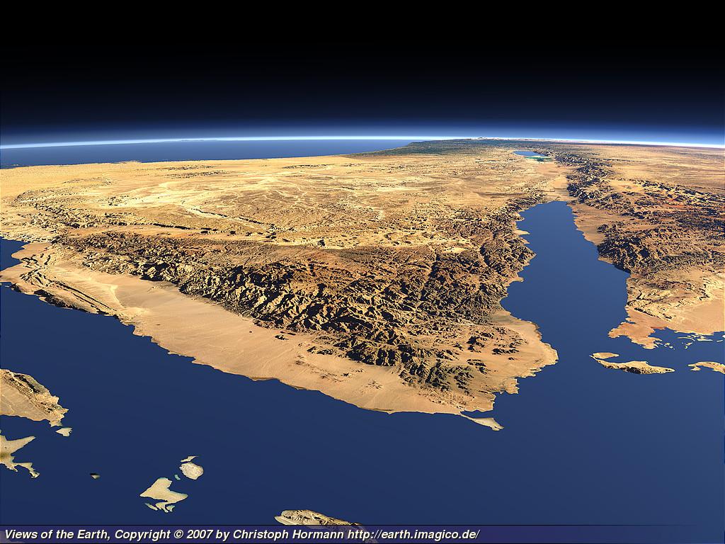 البلاد العربية Sinai1_large