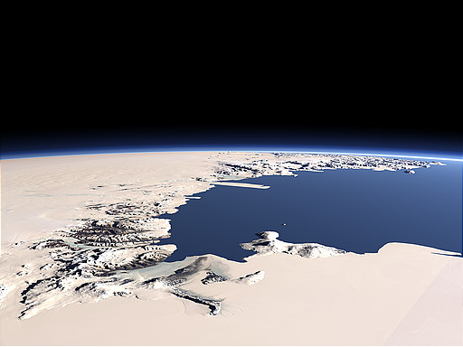 McMurdo Dry Valleys and Ross Island